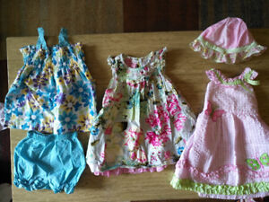 Beautiful load of 6-12 month girl clothes - more than shown!!