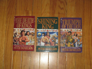 The Children of the Lion by Peter Danielson 3 Books 17, 18 & 19