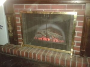 Electric Fire Place with heater & remote