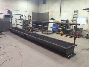 Fence Line Feeders/Cattle Silage Feeders/Feed Bunk/ equipment