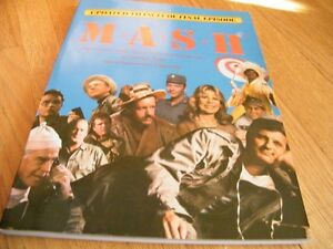 M*A*S*H commerative book Moose Jaw Regina Area image 1