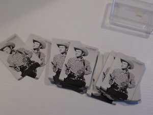 ANCIEN JEU DE CARTES ROY ROGERS THE KING OF THE COWBOYS Québec City Québec image 1