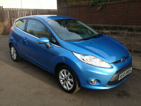 2009 (09) Ford Fiesta 1.25 Zetec 3 Door Hatchback Petrol Manual