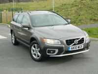 2010 (10) VOLVO XC70 2.4 D5 SE AWD GEARTRONIC WITH SUNROOF+SAT NAV+DAB+FVSH