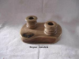 Chandelier artisanal en bois