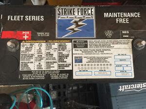 3 semi battery's heavy duty