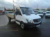 Mercedes-Benz Sprinter 3.5T Chassis Cab DIESEL MANUAL WHITE (2017)