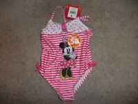 Minnie Mouse Bathing suit 12 mth- Brand new with Tags