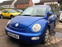 Volkswagen Beetle 1.6 2004MY RHD