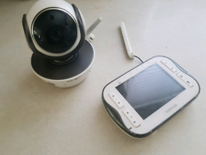 Motorola baby camera and viewing screen.