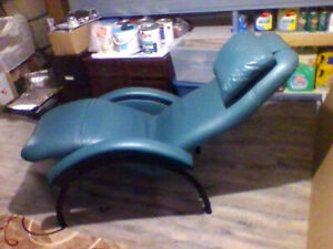 Leather Chair --Reclines