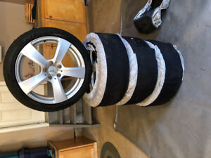 Pirelli Snow Tires & Rims 245/40 R18