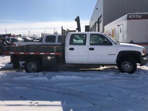 2007 GMC 3500 Dually (gas) with only 132000kms