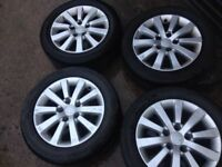 "Honda Civic Sport 16"" Alloy Wheels with Tyres"