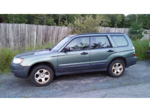 REDUCED! Subaru Forester 2006  5dr Wgn 2.5X Auto