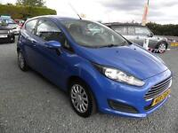 2013 Ford Fiesta 1.5 TDCI STYLE 3d Hatchback Blue