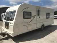 ☆ 2010/11 BAILEY OLYMPUS 504 ☆ 4 5 BERTH TOURING CARAVAN FIXED BED SIDE DINETTE☆
