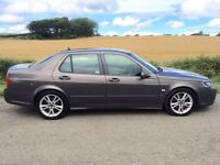 Saab 9-5 Aero. 2.3 Turbo. *12 Service Stamps* Long Mot.
