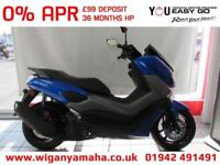 YAMAHA NMAX 125 ABS 2018 MODEL IN BLUE, GREY OR WHITE. 125cc AUTOMATIC SCOOTER