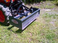 Gratte 5', boîte de nivelage (scraperbox) pour tracteur