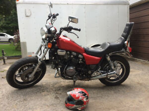 1982 Honda magna 750 with ownership
