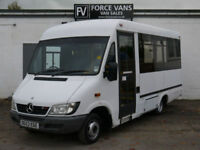 MERCEDES SPRINTER 411 CDI BUS MINIBUS DISABLED TRANSPORT WELFARE ACCESS VAN