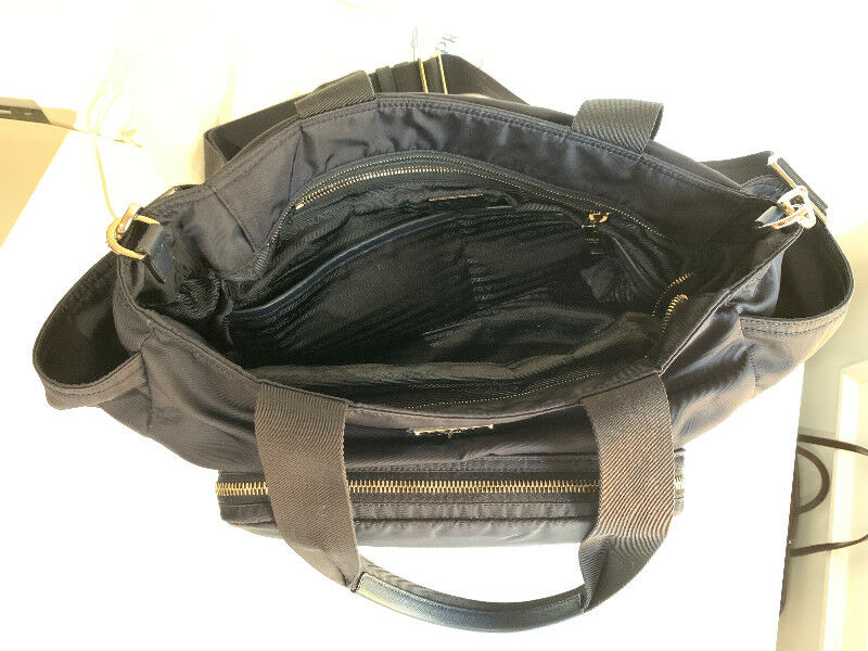 5f976b4bb62fcf ... cheap prada vela baby bag nylon diaper bag beautiful navy other b3b65  51205