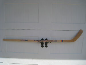 50 year old Victoriaville wooden hockey stick