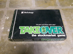 Takeover Stock market TSX Board Game 1984