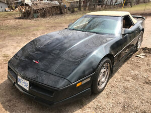 1990 Chevrolet Corvette Convertible w/ Greenwood Ground Effects