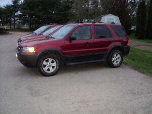 2006 Ford Escape SUV, Crossover XLT 4X4