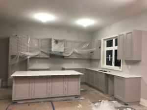 Over 40linear feet of brand new kitchen never been used