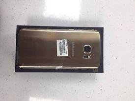Samsung galaxy S7 Edge BRAND NEW Boxed Gold
