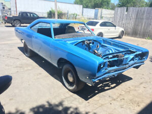 1968 PLYMOUTH GTX (RS23) PROJET / PROJECT CAR