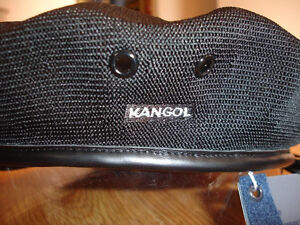 Black-KANGOL-Tropic-Monty-Beret-Style-0284KG-NWT