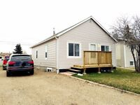 Newly renovated house in Wainwright for rent is available.
