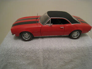 Toy Diecast Car 1 18 1967 Camaro Z28 Ertl Authentc Toy Car Model
