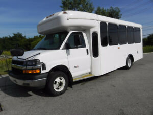 2010 Chevrolet 4500 Express DIESEL PASSENGER BUS- 4 Available