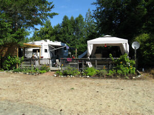 $69900. Waterfront Lot and trailer