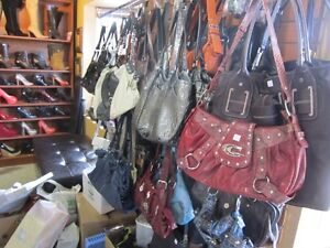 Various Ladies Purses, Clutches, Wallets, Shoes & Accessories!!