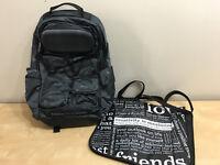 Lululemon Cruiser Backpack - Grey with Emboss design - NEW