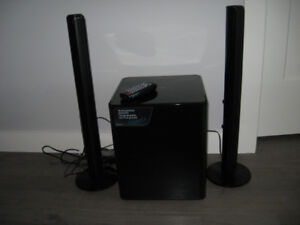 Samsung Woofer and Speakers