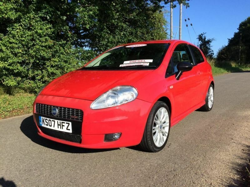 2007 fiat grande punto 1 9 multijet sporting 3dr in blofield norfolk gumtree. Black Bedroom Furniture Sets. Home Design Ideas