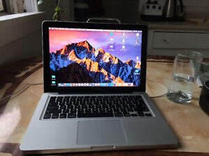 "Upgraded 13"" Macbook Pro with CD rom"