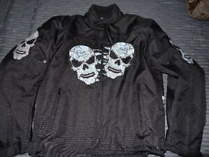 "New ""Skull Motorcycle Jacket"""
