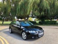 2005/55 Audi A3 2.0 TDI Sport 5 Door Sportback Black