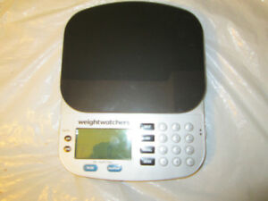 weight watchers kitchen scale