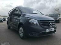 eeecda3551 2017 Mercedes-Benz Vito 114 BLUETEC Diesel grey Manual