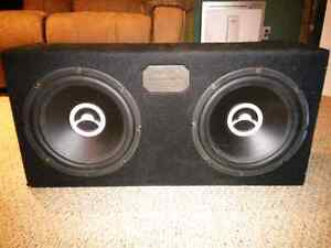 "12"" Subwoofers + AMP + Sealed Box Stratford Kitchener Area image 1"