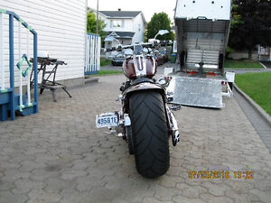 2014 5 by 10 Enclosed Aluminum Motorcycle trailer